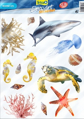 Стикер DecoArt StickerSet Marine Life